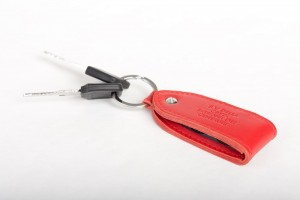 Keychain red